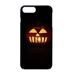 Funny Spooky Scary Halloween Pumpkin Jack O Lantern Apple Iphone 7 Plus Seamless Case (black) by HalloweenParty