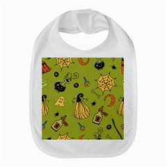 Funny Scary Spooky Halloween Party Design Bib