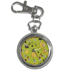 Funny Scary Spooky Halloween Party Design Key Chain Watches