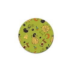 Funny Scary Spooky Halloween Party Design Golf Ball Marker