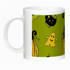 Funny Scary Spooky Halloween Party Design Night Luminous Mugs by HalloweenParty