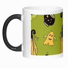 Funny Scary Spooky Halloween Party Design Morph Mugs by HalloweenParty