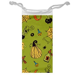 Funny Scary Spooky Halloween Party Design Jewelry Bag