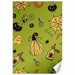 Funny Scary Spooky Halloween Party Design Canvas 12  X 18  by HalloweenParty