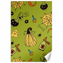 Funny Scary Spooky Halloween Party Design Canvas 20  X 30
