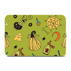 Funny Scary Spooky Halloween Party Design Plate Mats