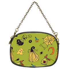 Funny Scary Spooky Halloween Party Design Chain Purse (one Side) by HalloweenParty