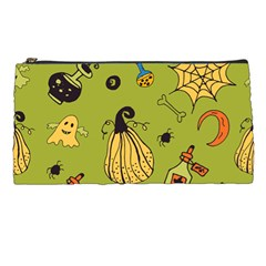 Funny Scary Spooky Halloween Party Design Pencil Cases
