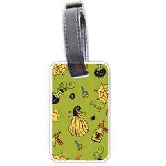 Funny Scary Spooky Halloween Party Design Luggage Tags (one Side)