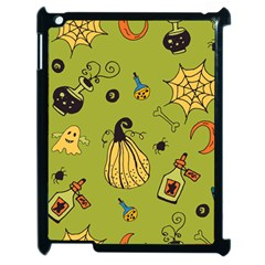 Funny Scary Spooky Halloween Party Design Apple Ipad 2 Case (black)