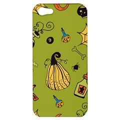 Funny Scary Spooky Halloween Party Design Apple Iphone 5 Hardshell Case