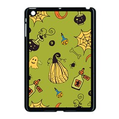 Funny Scary Spooky Halloween Party Design Apple Ipad Mini Case (black)
