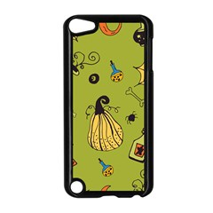 Funny Scary Spooky Halloween Party Design Apple Ipod Touch 5 Case (black)