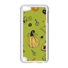 Funny Scary Spooky Halloween Party Design Apple Ipod Touch 5 Case (white)
