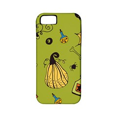 Funny Scary Spooky Halloween Party Design Apple Iphone 5 Classic Hardshell Case (pc+silicone)