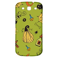Funny Scary Spooky Halloween Party Design Samsung Galaxy S3 S Iii Classic Hardshell Back Case
