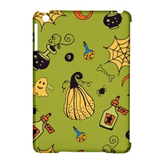 Funny Scary Spooky Halloween Party Design Apple Ipad Mini Hardshell Case (compatible With Smart Cover)