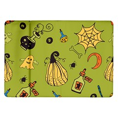 Funny Scary Spooky Halloween Party Design Samsung Galaxy Tab 10 1  P7500 Flip Case