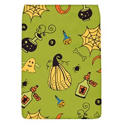 Funny Scary Spooky Halloween Party Design Removable Flap Cover (l) by HalloweenParty