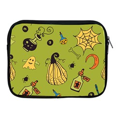Funny Scary Spooky Halloween Party Design Apple Ipad 2/3/4 Zipper Cases by HalloweenParty