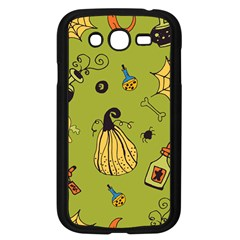 Funny Scary Spooky Halloween Party Design Samsung Galaxy Grand Duos I9082 Case (black)