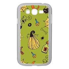 Funny Scary Spooky Halloween Party Design Samsung Galaxy Grand Duos I9082 Case (white)
