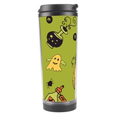 Funny Scary Spooky Halloween Party Design Travel Tumbler