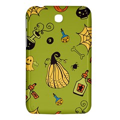 Funny Scary Spooky Halloween Party Design Samsung Galaxy Tab 3 (7 ) P3200 Hardshell Case