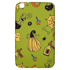Funny Scary Spooky Halloween Party Design Samsung Galaxy Tab 3 (8 ) T3100 Hardshell Case  by HalloweenParty