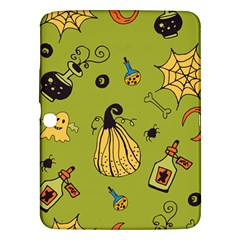 Funny Scary Spooky Halloween Party Design Samsung Galaxy Tab 3 (10 1 ) P5200 Hardshell Case