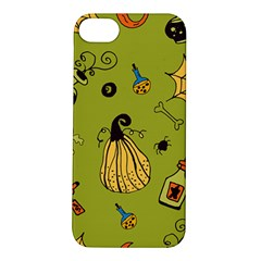 Funny Scary Spooky Halloween Party Design Apple Iphone 5s/ Se Hardshell Case by HalloweenParty