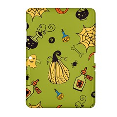Funny Scary Spooky Halloween Party Design Samsung Galaxy Tab 2 (10 1 ) P5100 Hardshell Case