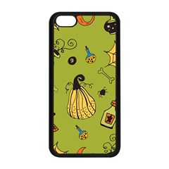 Funny Scary Spooky Halloween Party Design Apple Iphone 5c Seamless Case (black) by HalloweenParty