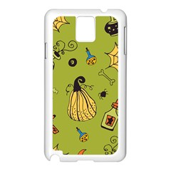 Funny Scary Spooky Halloween Party Design Samsung Galaxy Note 3 N9005 Case (white)