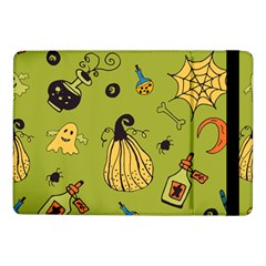 Funny Scary Spooky Halloween Party Design Samsung Galaxy Tab Pro 10 1  Flip Case by HalloweenParty