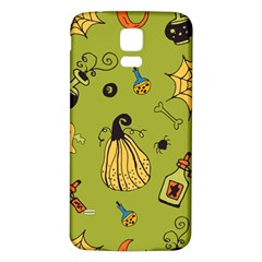 Funny Scary Spooky Halloween Party Design Samsung Galaxy S5 Back Case (white)