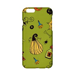 Funny Scary Spooky Halloween Party Design Apple Iphone 6/6s Hardshell Case by HalloweenParty