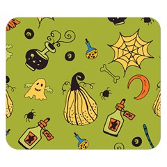 Funny Scary Spooky Halloween Party Design Double Sided Flano Blanket (small)
