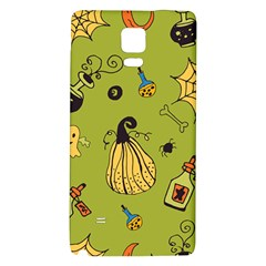 Funny Scary Spooky Halloween Party Design Samsung Note 4 Hardshell Back Case