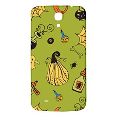 Funny Scary Spooky Halloween Party Design Samsung Galaxy Mega I9200 Hardshell Back Case