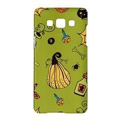 Funny Scary Spooky Halloween Party Design Samsung Galaxy A5 Hardshell Case