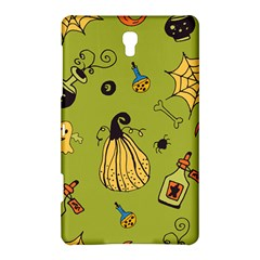 Funny Scary Spooky Halloween Party Design Samsung Galaxy Tab S (8 4 ) Hardshell Case