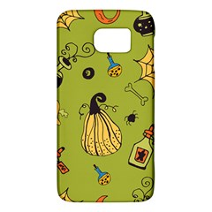 Funny Scary Spooky Halloween Party Design Samsung Galaxy S6 Hardshell Case