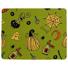 Funny Scary Spooky Halloween Party Design Jigsaw Puzzle Photo Stand (rectangular)