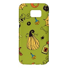 Funny Scary Spooky Halloween Party Design Samsung Galaxy S7 Edge Hardshell Case