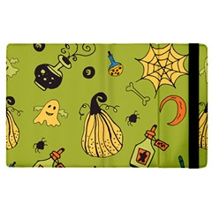 Funny Scary Spooky Halloween Party Design Apple Ipad Pro 9 7   Flip Case
