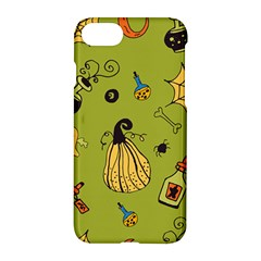 Funny Scary Spooky Halloween Party Design Apple Iphone 7 Hardshell Case