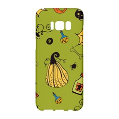 Funny Scary Spooky Halloween Party Design Samsung Galaxy S8 Hardshell Case