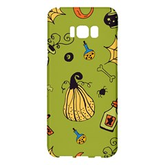 Funny Scary Spooky Halloween Party Design Samsung Galaxy S8 Plus Hardshell Case