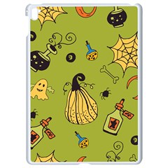 Funny Scary Spooky Halloween Party Design Apple Ipad Pro 9 7   White Seamless Case by HalloweenParty